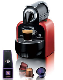 NESPRESSO Essenza Red Automat