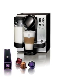 NESPRESSO Lattissima Satin Chrome