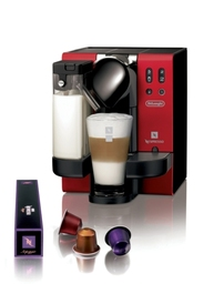 NESPRESSO Lattissima Stylish Red